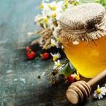 Honey and Herbal tea — Stock Photo #58372639