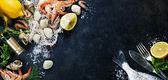 Fresh seafood — Stock Photo