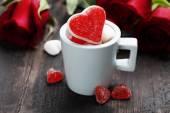 Valentine's day composition — Stockfoto