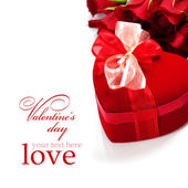 Valentine composition — Stock Photo