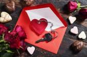 Valentine's day composition — Foto Stock