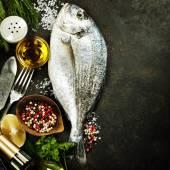 Köstlich frischer fisch — Stockfoto