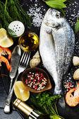 Delicious fresh fish — Stock Photo