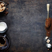 Coffee composition — Stock Photo