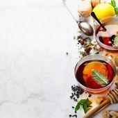 お茶の組成 — ストック写真
