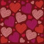 Valentine heart pattern — Stock Vector #59494261