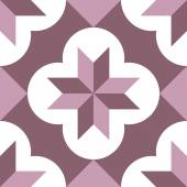 Hydraulic vintage cement tiles — Wektor stockowy