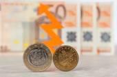Euro or Drachma — Stock Photo