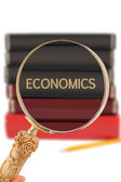 Looking in on University education - Economics — Stock Photo