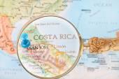 Looking in on San Jose, Costa Rica — Stock Photo