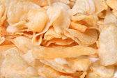 Closeup of kettle chips — Stock Photo
