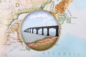 Confederation Bridge, Canada — Stock Photo