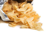 Bag of chips — Stock Photo