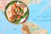 Mexican Burrito — Stock Photo