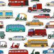 Retro cars pattern — 图库矢量图片 #52543973