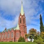 Mikkeli, Finland. Lutheran Cathedral — Stock Photo #54302163
