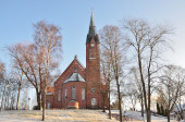 Finland. Forssa Cathedral — Stock Photo
