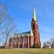 Lutheran Cathedral in Mikkeli, Finland — Stock Photo #70476723
