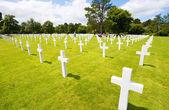 Graves on military cemetery — Stockfoto