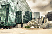 Modern buildings in the major business district — Stock Photo