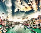 Gran canal — Foto de Stock