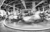 Merry-Go-Round blurred movement — Stock Photo