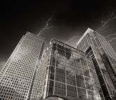 London group of  Buildings — Stock Photo