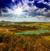 Queensland Countryside in winter — Stock Photo