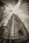 Trinity Church in New York City — Stock Photo