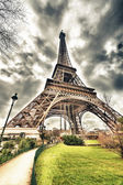 Magnificence of Eiffel Tower, view — Stock Photo