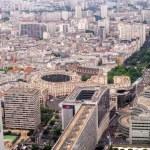 Panoramic aerial view of Paris — Stock Photo #52401617
