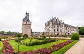 Garden and Castle of Chenonceau. — Stockfoto