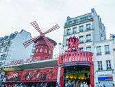 The Moulin Rouge during the day — Stock Photo