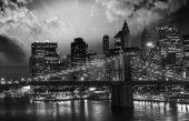 Amazing night in New York City — Stock Photo