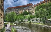 City of Prague, Vltava river — Stock Photo