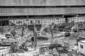 Big construction — Stock Photo