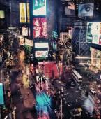 Lamporna på Times Square — Stockfoto