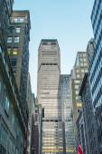 New York Architecture. City buildings and skyscrapers — Stock Photo