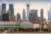 Architettura di new york. grattacieli ed edifici — Foto Stock