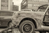 Damaged car — Stock Photo