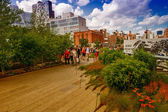 The High Line Park in New York — Stock Photo