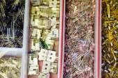 Componentes eletrônicos — Fotografia Stock