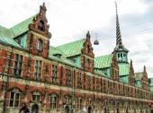 City streets of Copenhagen — Stock Photo
