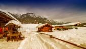 Beautiful mountain scenery — Stock Photo