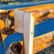 Guard Rail on a european road — Stock Photo #53338061