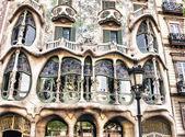 House Casa Battlo famous building designed by Antoni Gaudi — Stok fotoğraf