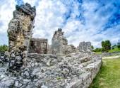 Ruins of Tulum. Mayan site in Mexico — Stock Photo