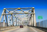 Grizzaffi Bridge, USA — Stock Photo