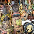 Mayan wooden masks for sale, Mexico — Stock Photo #53555561