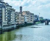 Old Bridge in Florence — Stok fotoğraf